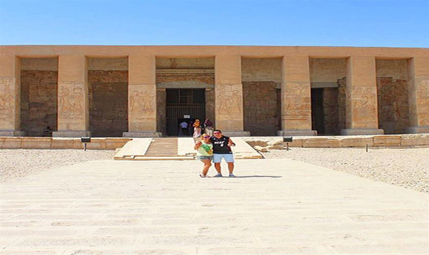 Hurghada day trips to Abydos temple