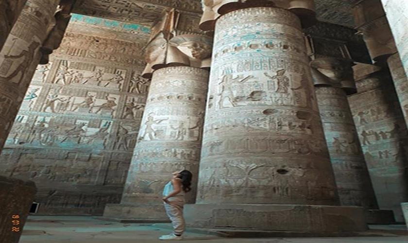 Luxor cruise trip to visit the Temple of Dendera