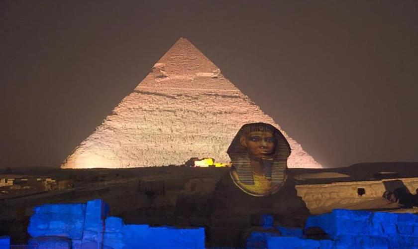 giza light show